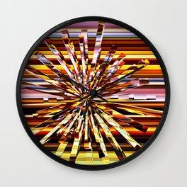 Energy Burst Wall Clock