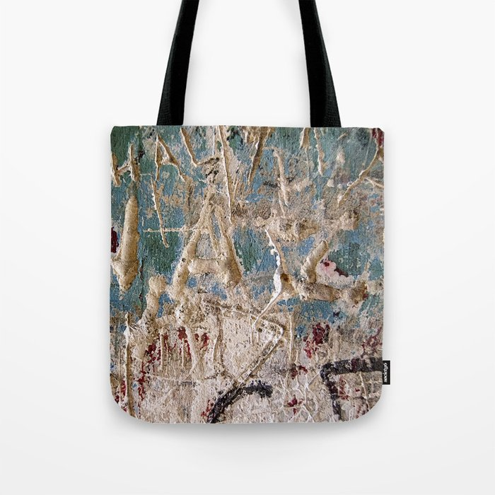 Scratched Surface Tote Bag