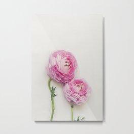 Pink Peonies 2 Metal Print