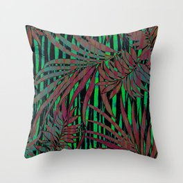 With the Heat of the Jungle, Comes the Cool of the Night Throw Pillow