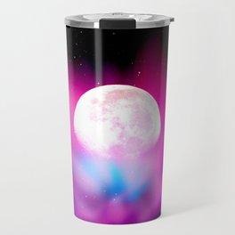 Nebula Moon Travel Mug