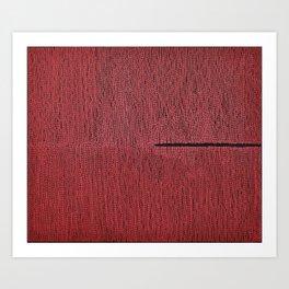 profound red Art Print