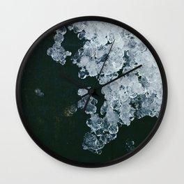 Sleet Wall Clock
