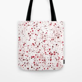 Blood concept. Red texture. Tote Bag