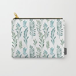 Seamless natural botanical watercolor pattern Carry-All Pouch