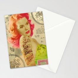 Rockabilly Dolly - Lauren Stationery Cards