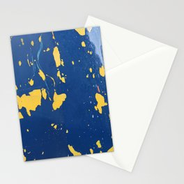 Meteor Shower as Seen on the Hull of a Boat Stationery Cards