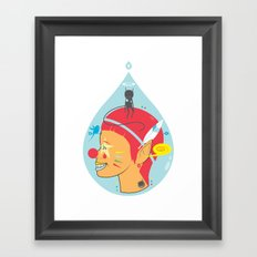 PRETENDED TO BE Framed Art Print