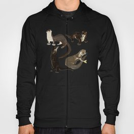 Old World otters Hoody