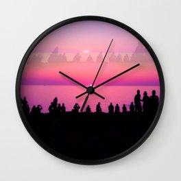 Ibiza Sunset Wall Clock