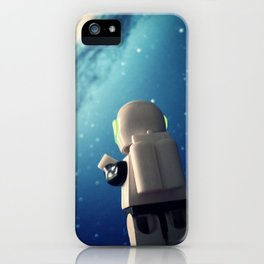 Neil in the galaxy iPhone Case
