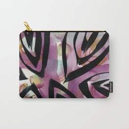 Tribal Print Carry-All Pouch