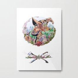 Cranberry woodsman Metal Print