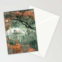 Virginian Log Cabin Stationery Cards