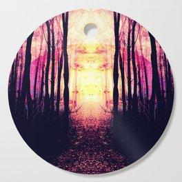Path to Imagination : Mauve Pink Purple Cutting Board