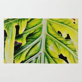 Plant Leaf Rug