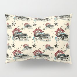 The Road So Far Vintage Pillow Sham