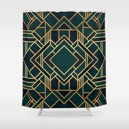 Art Deco 2 Shower Curtain