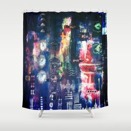 industrial Shower Curtain