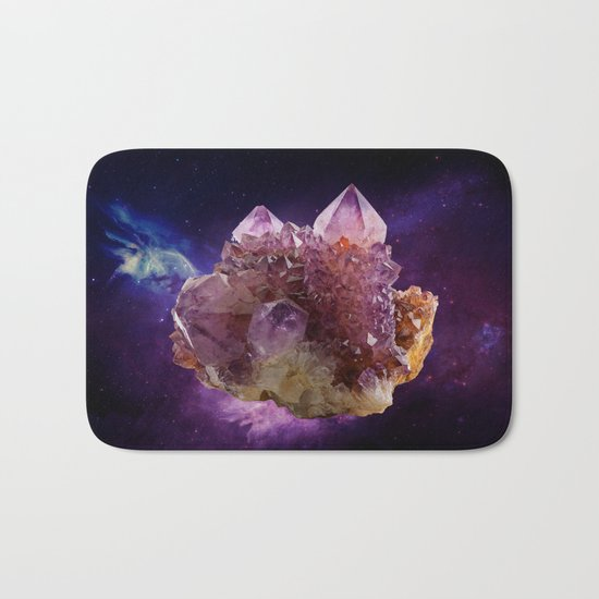 Crystal Planet Bath Mat