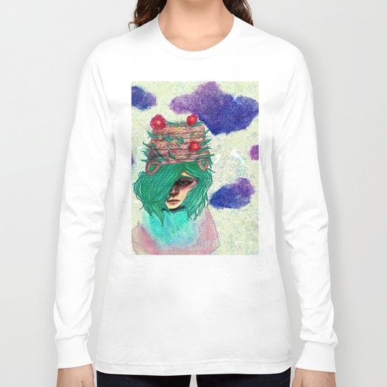 Basket Hat Woven Long Sleeve T-shirt