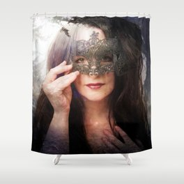 You will never know me Shower Curtain