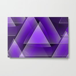 artistic abstract background Metal Print