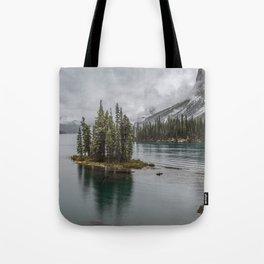 Landscape Maligne Lake Photography | Alberta | Canada Tote Bag