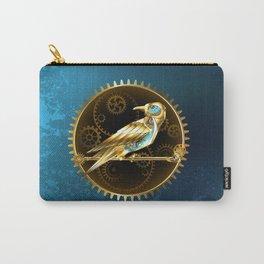 Mechanical Bird ( Steampunk ) Carry-All Pouch