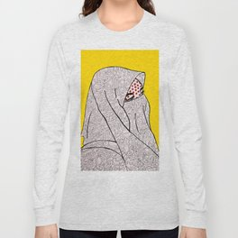 Roy Lichtenstein Meets the Arabic Woman Long Sleeve T-shirt