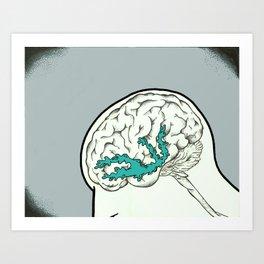 Mindful(l) of Dopamine Art Print