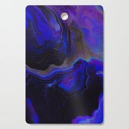 Dark Purple Blue Galaxy - Midnight Shades Cutting Board
