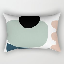 Shape study #18 - Stackable Collection Rectangular Pillow