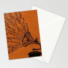 Facing the Music Stationery Cards