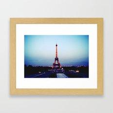 Tour d'Eiffel Framed Art Print