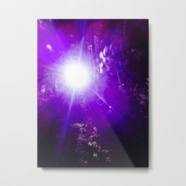Purple Day Metal Print