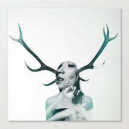 DOUBLE EXPOSURE POJECT // CLEMENTINA Canvas Print