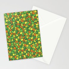 Peas, Carrot & Corn Stationery Cards