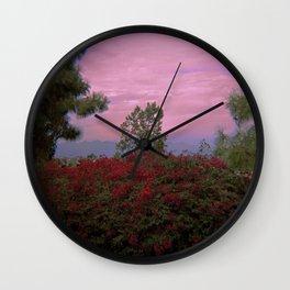 Inner City Views Wall Clock