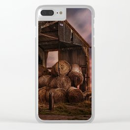 The Bale Barn Clear iPhone Case