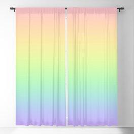 Pastel Rainbow Gradient! Blackout Curtain