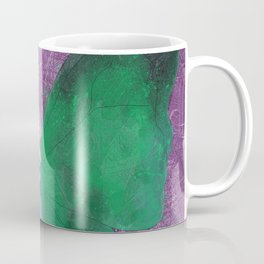 Green Butterfly Fairy Coffee Mug