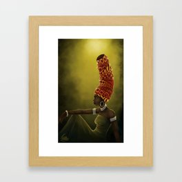 Wrap Queen Framed Art Print