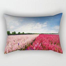 Delphiniums Rectangular Pillow