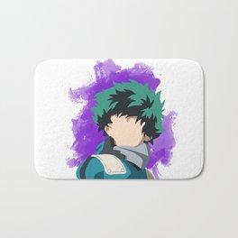 My Hero Academia Minimalist (Midoriya/Deku) Bath Mat