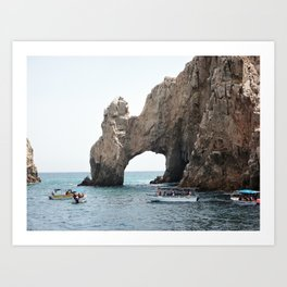 The Arch in Los Cabos Mexico Art Print