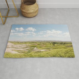 Badlands Prairie - Nature Landscape Photography Rug