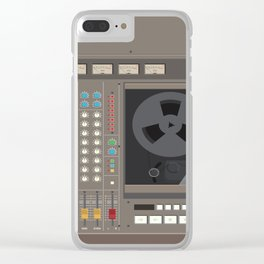 Tascam 388 - illustration Clear iPhone Case