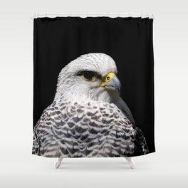 Gyrfalcon Shower Curtain