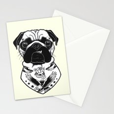 Dog - Tattooed Pug Stationery Cards